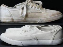 Sararan Beyaz Ayakkabı Plastik Yerleri Nasıl Temizlenir, Beyazlatılır