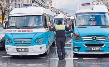 İzmir şehiriçi dolmuşlar saat kaça kadar çalışıyor