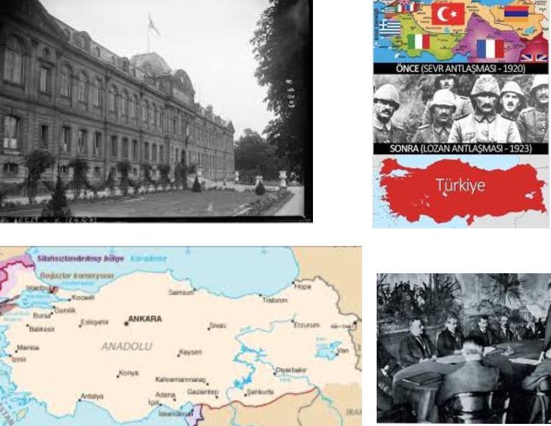 Sevr Antlaşmasını Osmanlı Devleti Açısından Değerlendiriniz.