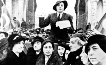 Türk Kadınına Seçme ve Seçilme Hakkının Verilişi İle İlgili Yazı, Kompozisyon