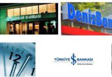 Banka Çalışma Saatleri 2018