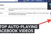 Facebook video kalitesini değiştirme