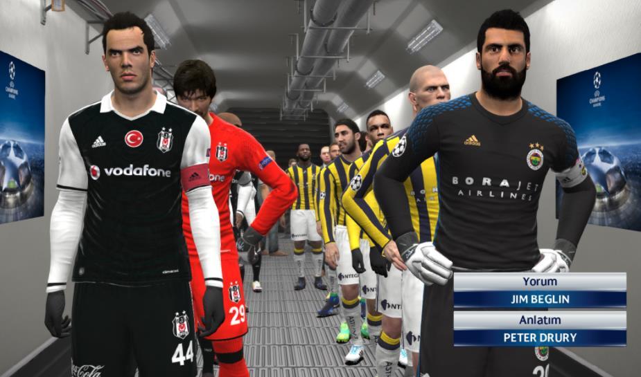 PES 2018 Süper Lig yaması