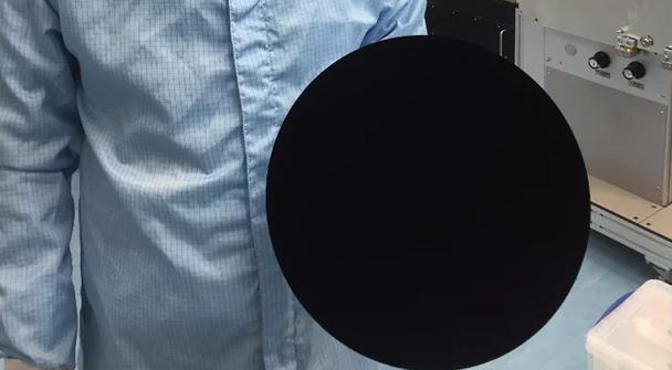 en siyah materyal