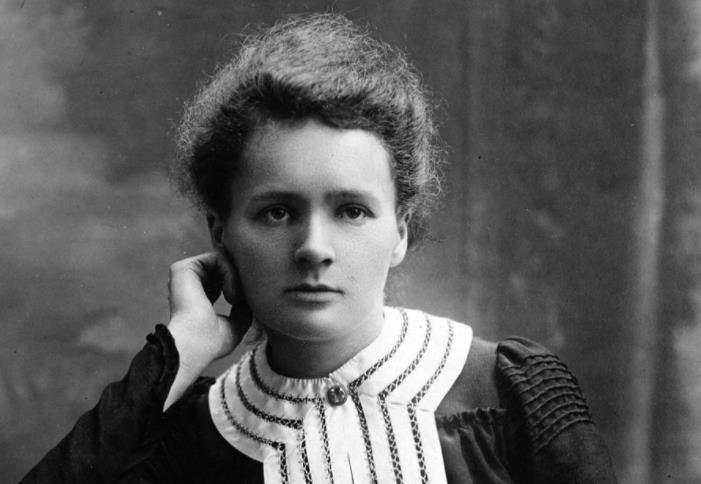Fransız fizikçi Maria Sklodowska-Curie