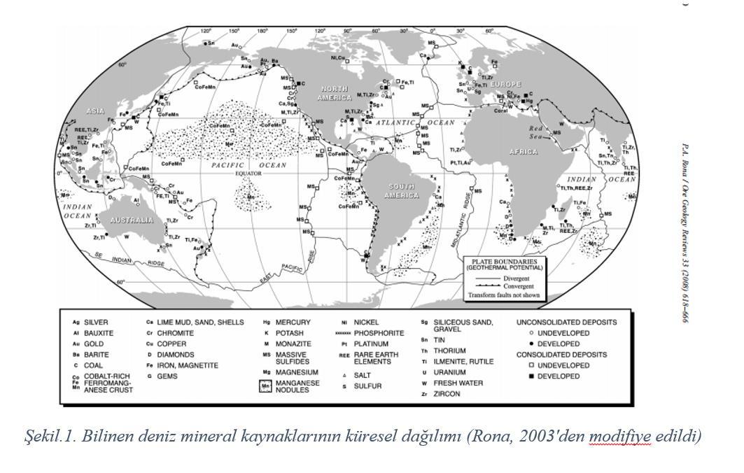Deniz Mineralleri ve Levha Tektoniği