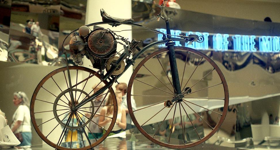buharlı bisiklet