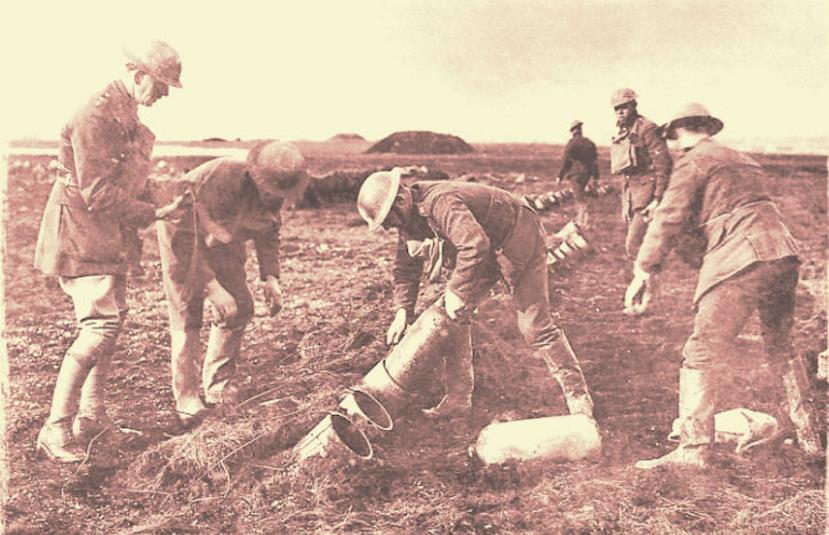 Çanakkale Savaşı Zehirli Gaz Kullanımı
