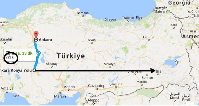 Ankara'nın Kuş Uçuşu 222 Km Güneyinde Ve Yerel Saati De Ankara'dan 36 Dakika İleri Olan İlimiz Hangisidir?