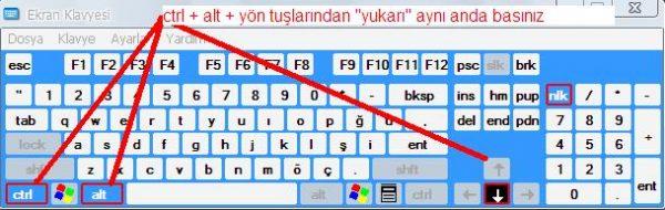 Bilgisayarın Ekranı Ters Döndü Nasıl Çevirebilirim