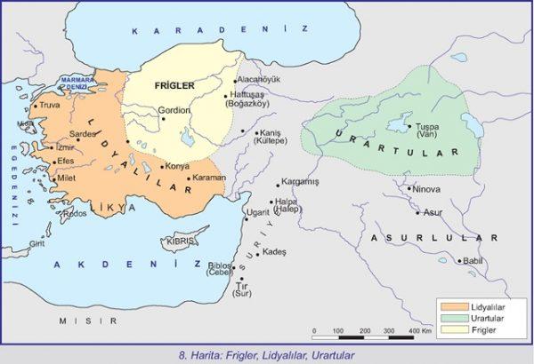Karabük'ün bulunduğu yer hangi ilk çağ devletinin sınırlarına girer