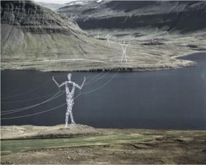 izlanda elektrik direkleri